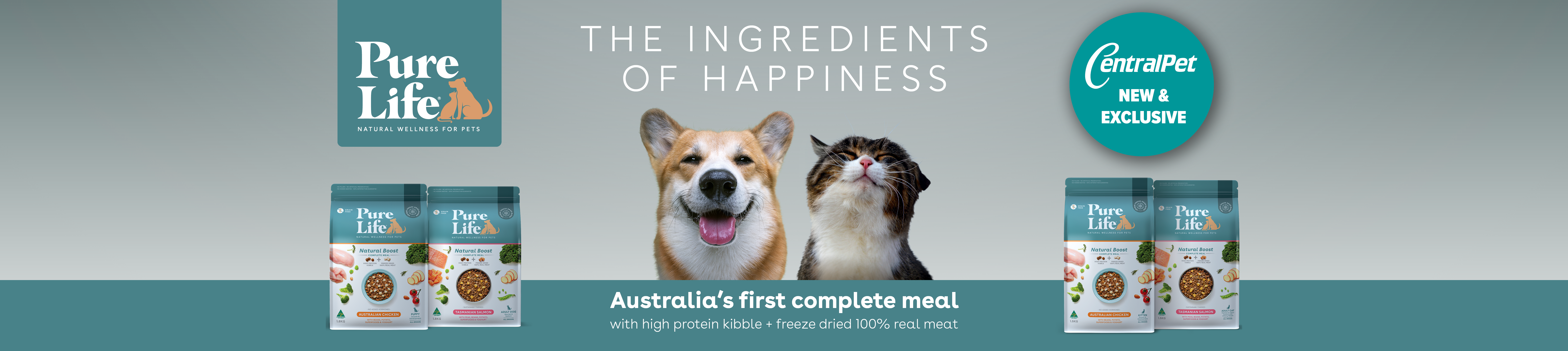 Pure Life - The Ingredientof Happinesss of