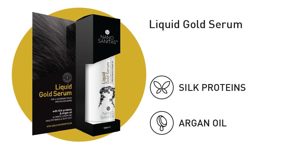 Nano Sanitas Liquid Gold Serum