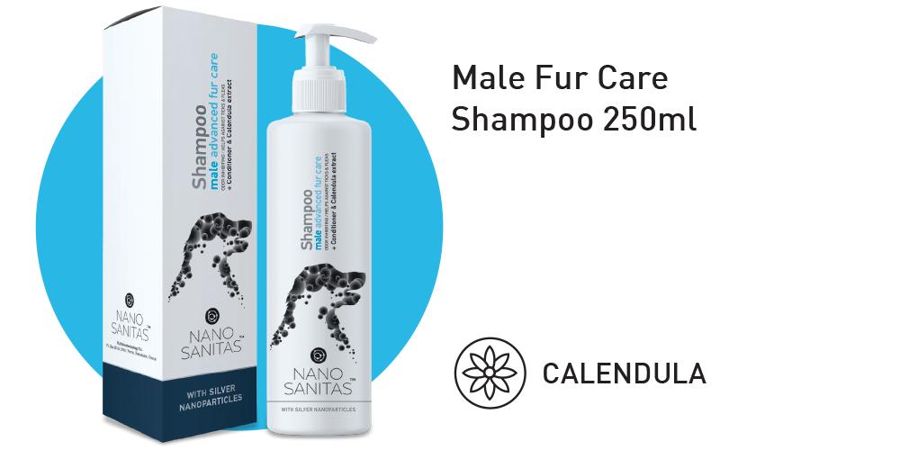 Nano Sanitas Male Fur Care Shampoo 250ml