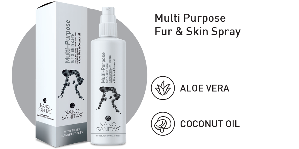 Nano Sanitas Multi Purpose Fur & Skin Spray