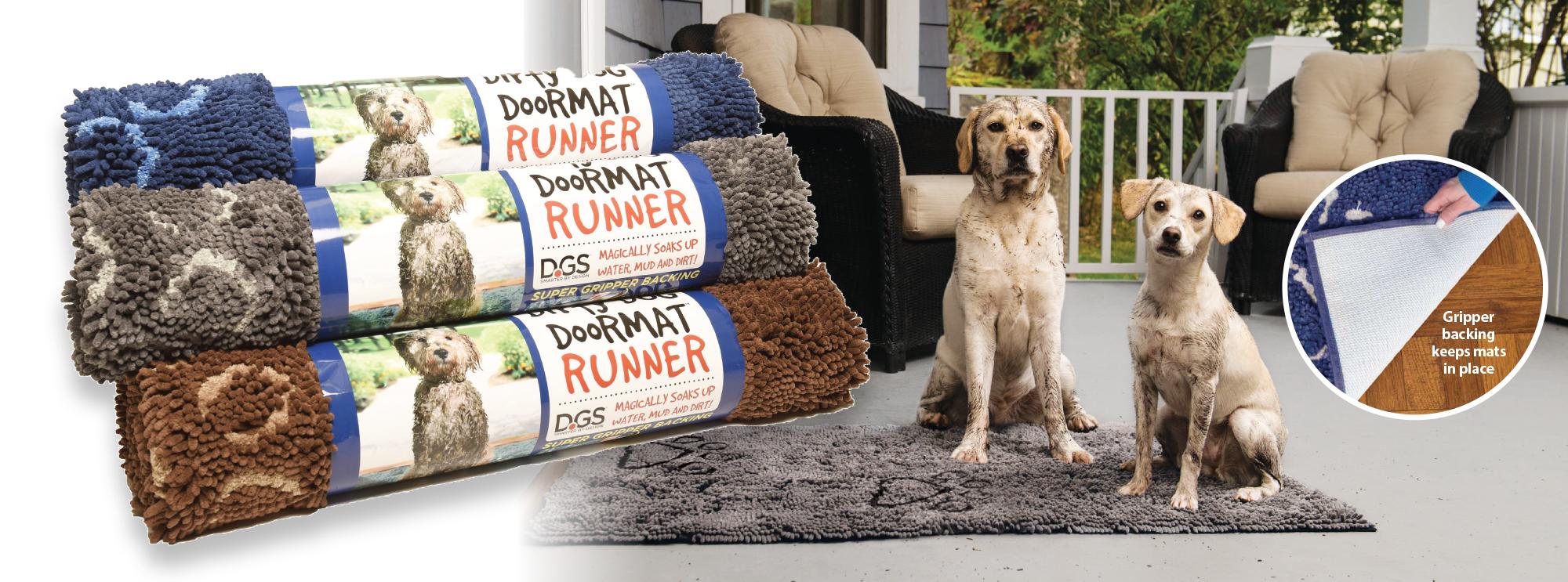 DGS Dirty Dog Doormat Runner
