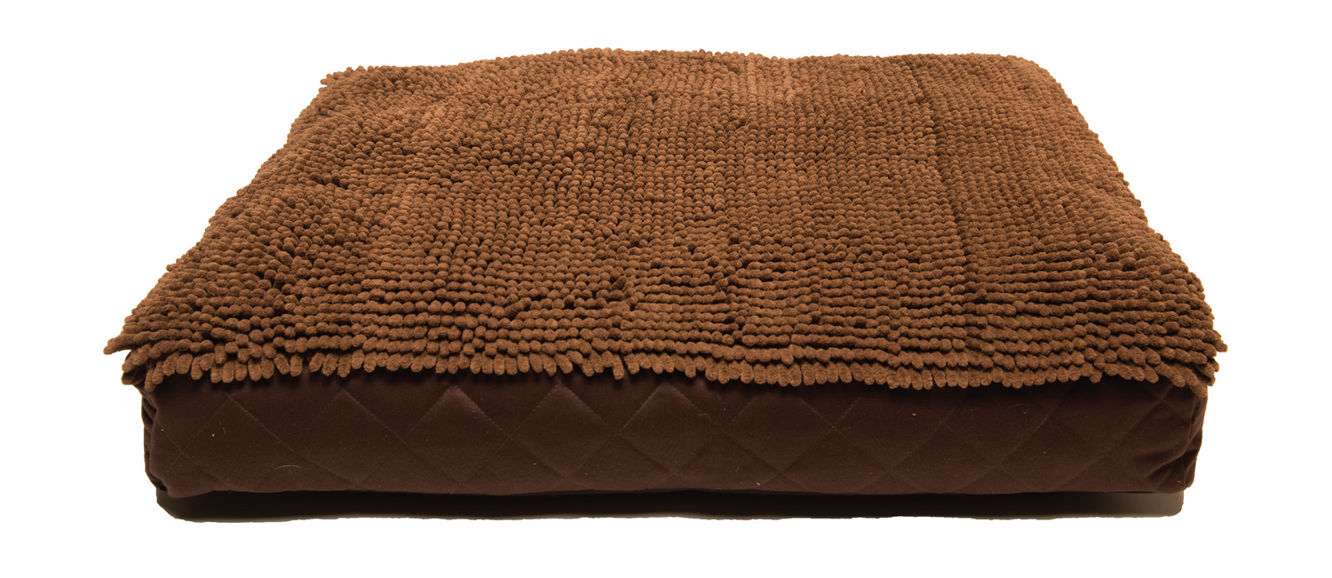 DGS Rectangle Bed - Brown