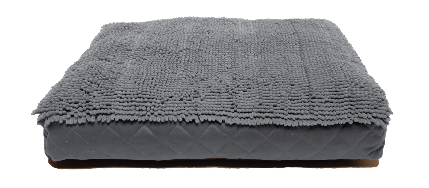 DGS Rectangle Bed - Grey