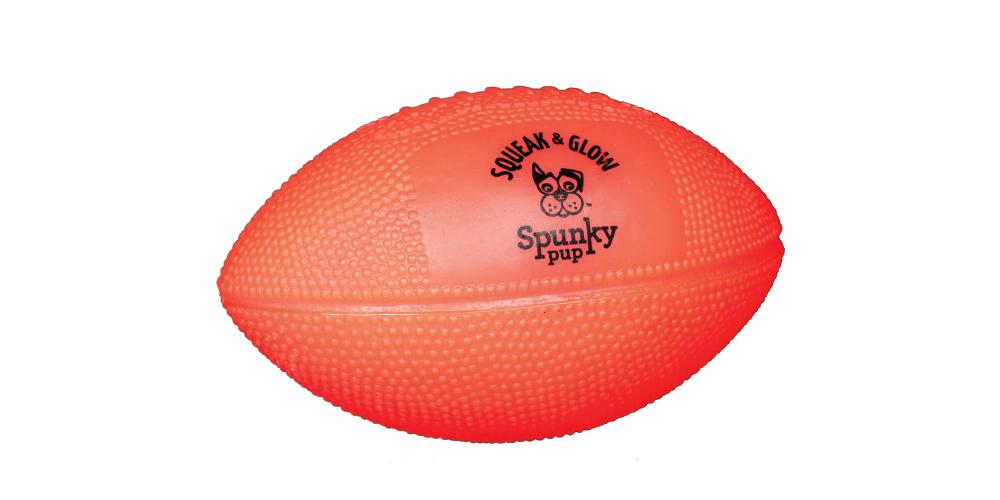 Spunky Pup - Glow Football