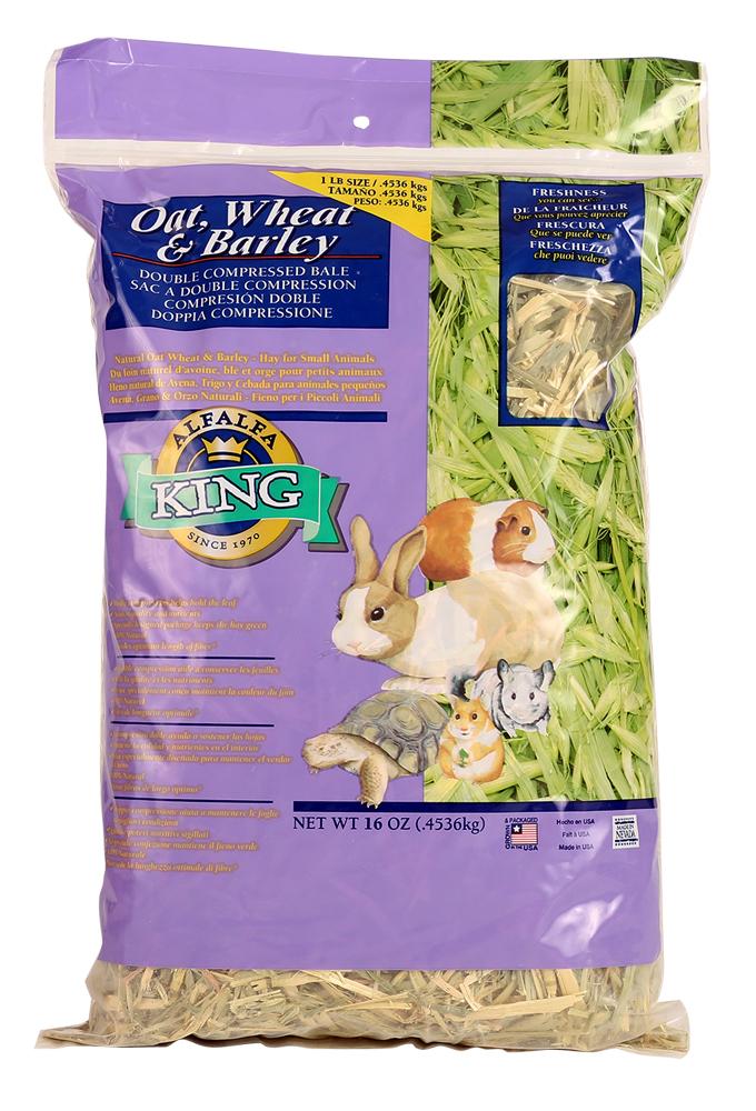 Alfalfa King Oat Wheat Barley